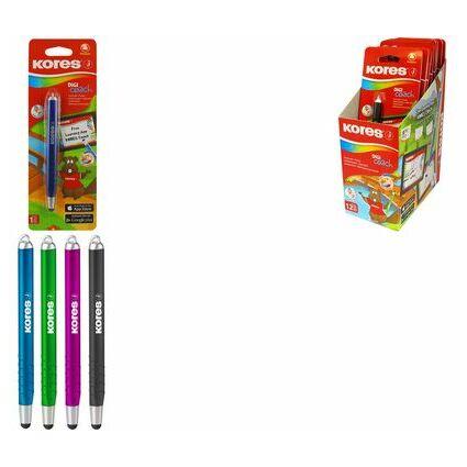 "Kores Eingabestift Touch Pen ""Digi Coach"", farbig sortiert"