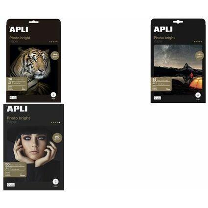agipa Foto-Papier bright, DIN A4, 240 g/qm, hochglänzend