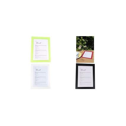 dataplus Speisekarten-Mappe, einteilig, A4, limone