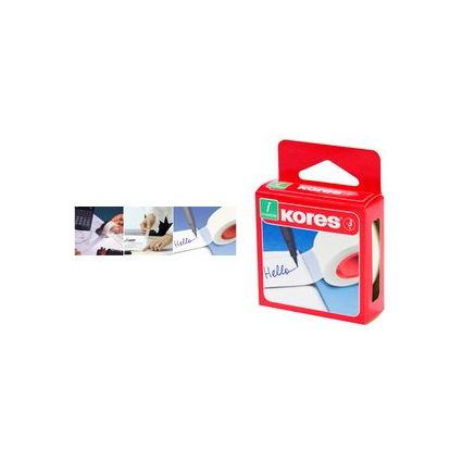 Kores Klebefilm Invisible Tape, 19 mm x 33 m, matt