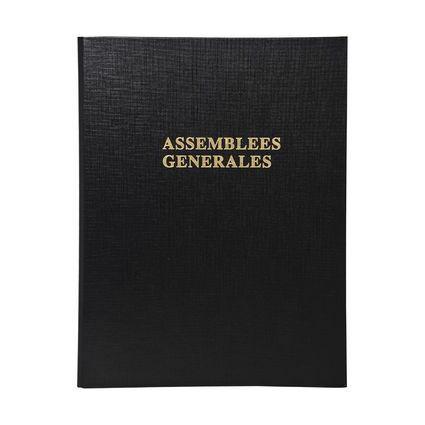 """EXACOMPTA Reliure """"Délibérations Assemblées Générales"""""""