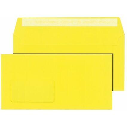 MAILmedia Briefumschlag, C6/5, mit Fenster, gelb