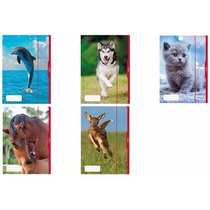 """herlitz Zeichnungsmappe """"Tiere"""", DIN A3"""