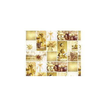 """URSUS Weihnachts-Fotokarton """"gold"""""""