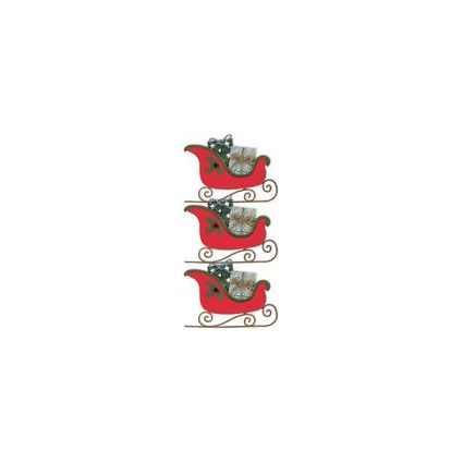 "HEYDA Weihnachts-Sticker Stick-On's ""Nikolaus"""