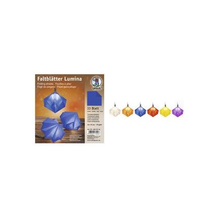 URSUS Faltblätter Lumina, blau