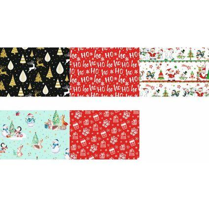 """SUSY CARD Weihnachts-Geschenkpapier """"Little rendeer"""", Rolle"""