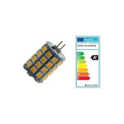 DIODOR LED-Lampe SMD Stiftsockel, 5,3 Watt, Sockel: GY6.35