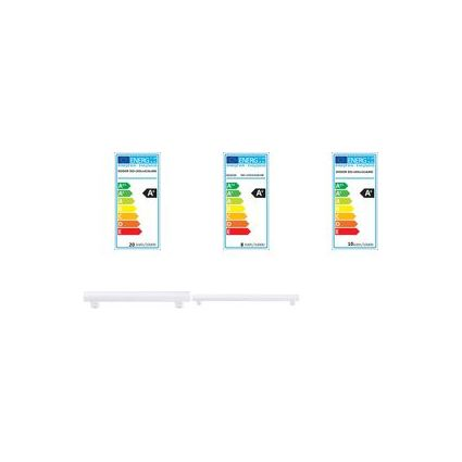 DIODOR LED-Lampe Linear, 9 Watt, Sockel: S14s, warmweiß