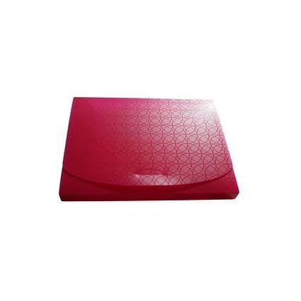 dataplus heftbox trend aus kunststoff a4 fuchsia lack. Black Bedroom Furniture Sets. Home Design Ideas