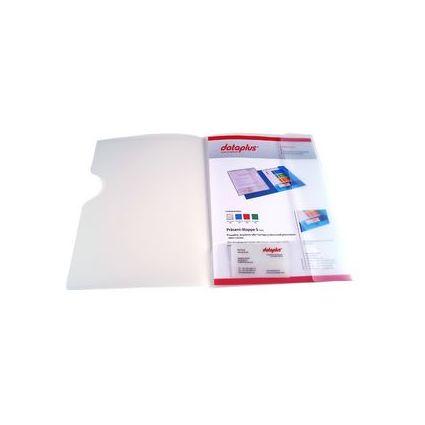 dataplus Angebotsmappe S, DIN A4, natur-transparent