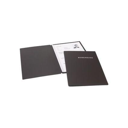dataplus Bewerbungsmappe Slide S, DIN A4, graphit