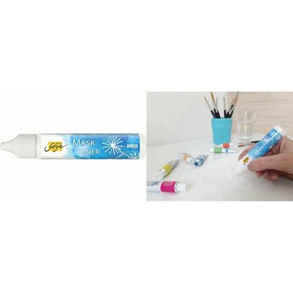 "KREUL Maskierfarbe SOLO Goya ""Mask Liner"", 29 ml, Pen"