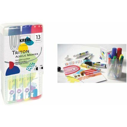 KREUL Acrylmarker SOLO Goya TRITON Acrylic, Power Pack