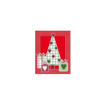 """SUSY CARD Anhängerkarten Weihnachten """"Weihnachtsbaum"""""""