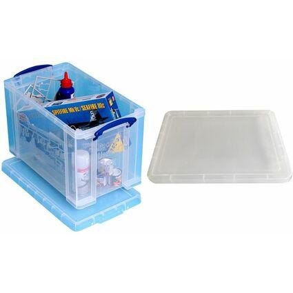 Really Useful Box Aufbewahrungsbox 24 Liter, transparent