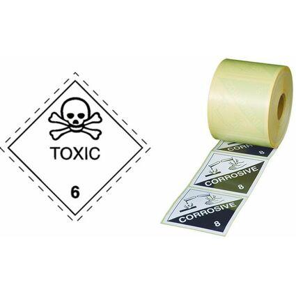 "smartboxpro Gefahrgutaufkleber ""Klasse 2"", Flamme"