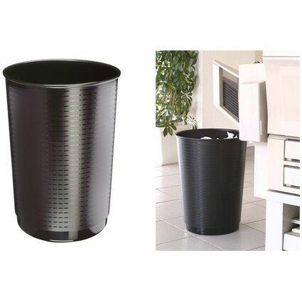 CEP Papierkorb CepMaxi GreenSpirit, 40 Liter, schwarz