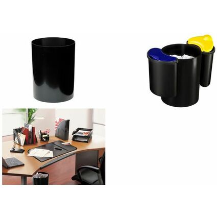CEP Papierkorb CONFORT, 16 Liter, schwarz