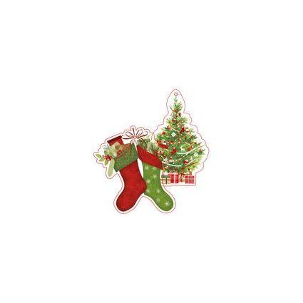 """SUSY CARD 3D Anhängerkarten Weihnachten """"X-mas"""""""