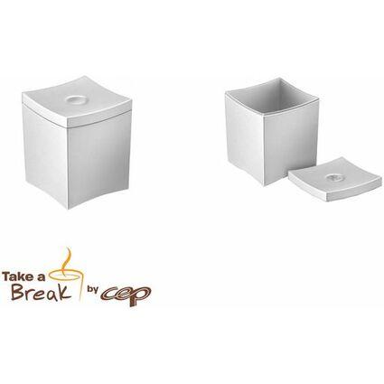 CEP Tisch-Abfallbehälter Take a Break, 0,6 Liter, grau