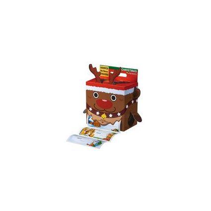 SUSY CARD Weihnachts-Stickerbox, 100 Geschenkaufkleber