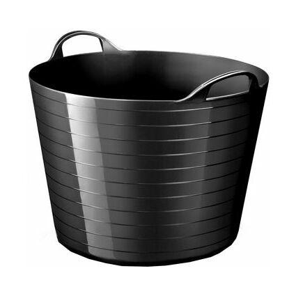 CEP Aufbewahrungskorb strata, flexibel, 40 Liter, schwarz