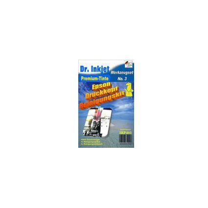 Dr.Inkjet Druckkopf-Reinigungsset Format A4 & A3 für Epson