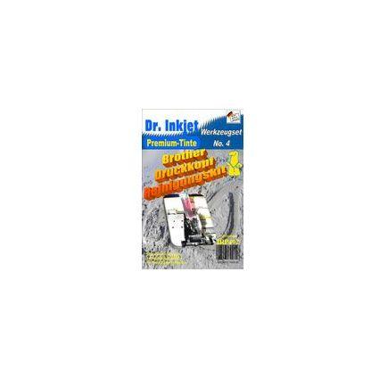 Dr.Inkjet Druckkopf-Reinigungsset Format A4 & A3 für brother