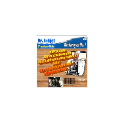 Dr.Inkjet Druckkopf-Reinigungsset Epson Großformat