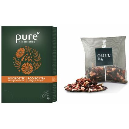 "Tchibo Tee ""PURE Tea Rooibos Orange/Karamell"""