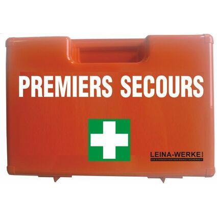 Leina Erste-Hilfe-Koffer PREMIERS SECOURS, Inhalt DIN 13157