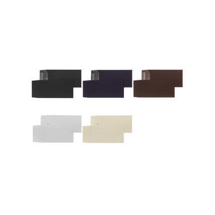 PAPYRUS Briefumschlag Plike, DIN lang, 120 g/qm, schwarz