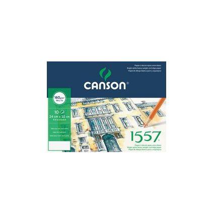 Canson Zeichenpapier 1557, 320 x 240 mm, 160 g/qm, Umschlag