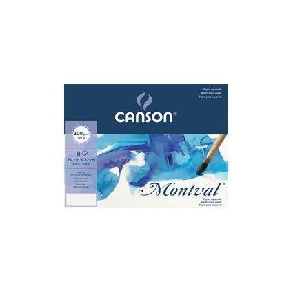Canson Zeichenpapier Montval, DIN A3, 300g/qm, Umschlag