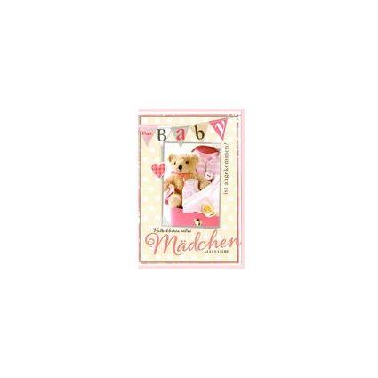 HORN Geburtskarte - Yippie ein Junge -  inkl. Umschlag