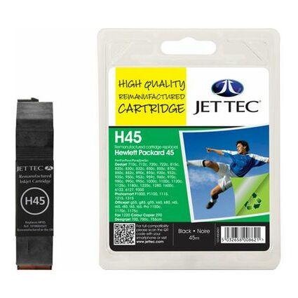 JET TEC wiederbefüllte Tinte H300XLB ersetzt hp CC641EE/