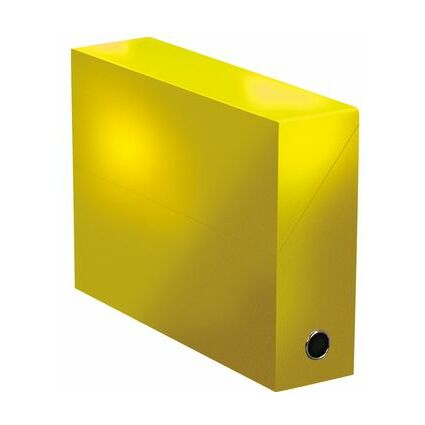 ELBA Dokumentenmappe COLOR LIFE, aus Karton, gelb