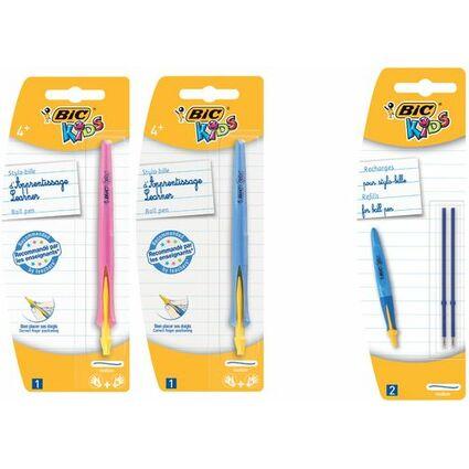 BIC KIDS Druckkugelschreiber Learner Ball Pen Click, Blister
