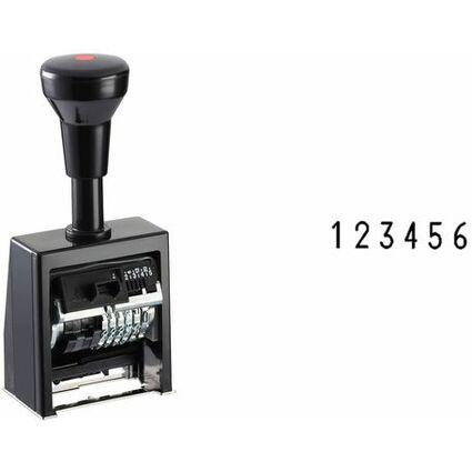 REINER Paginierstempel B6K, Schrifthöhe: 5,5 mm