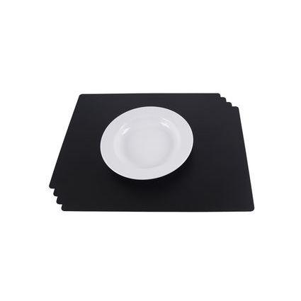 dataplus Tischset, aus PP, 4-teilig, weiß