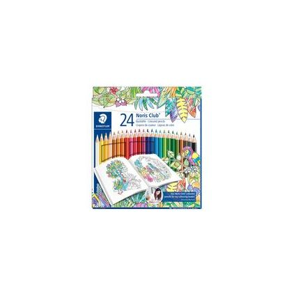 STAEDTLER Buntstift Noris Club, Johanna Basford Edition,36er