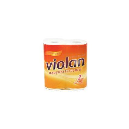 Fripa Küchenrolle Violan, 2-lagig, weiß