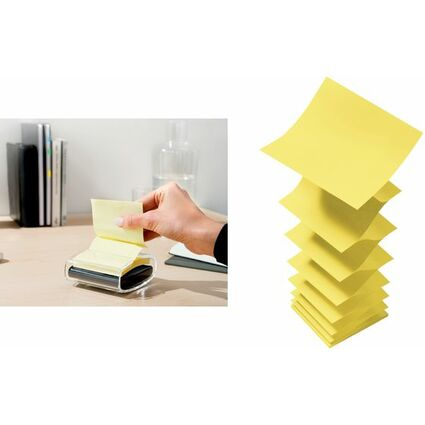 Post-it Haftnotizen Z-Notes, 76 x 76 mm, gelb