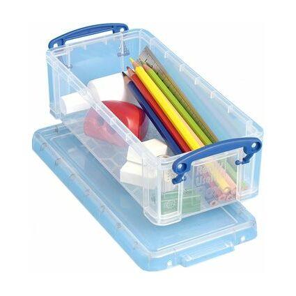 Really Useful Box Aufbewahrungsbox 0,90 Liter, transparent