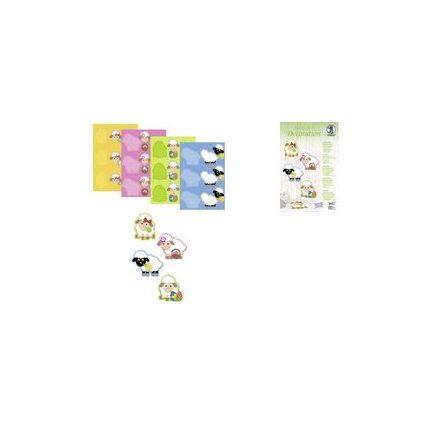 """URSUS Deko-Accessoires 3D Paper Decoration """"Schäfchen"""""""