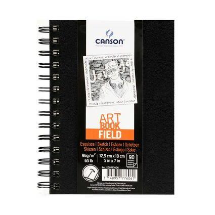 CANSON Skizzier- und Zeichenblock FIELD, 125 x 180 mm