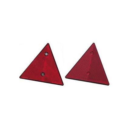 IWH Anhänger-Reflektor, dreieckig, 155 x 137 mm, rot