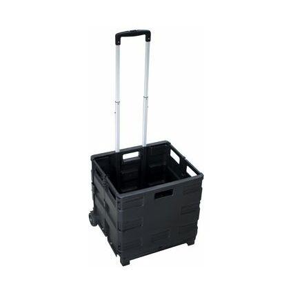 pavo Klapp-Transportkarre mit Klappbox, Tragkraft: bis 35 kg