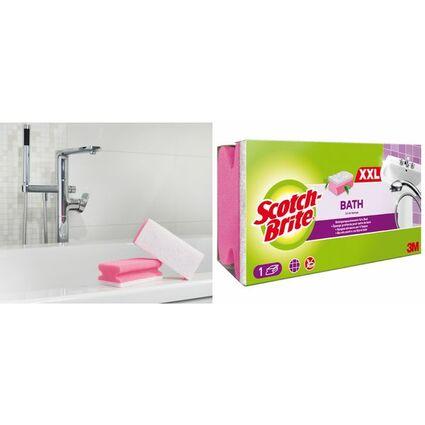 Scotch-Brite Reinigungsschwamm Soft, Farbe: rosa/weiß